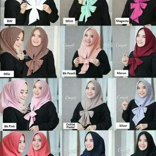 Hijab Coupli Slup Pita