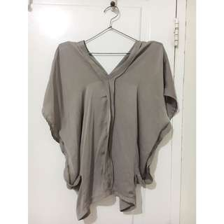 Plain Grey Top