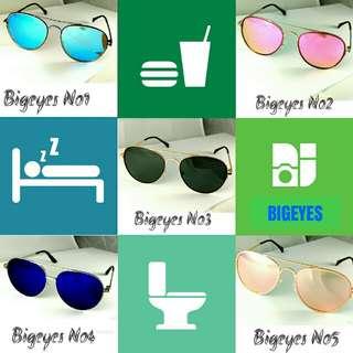 🚚 太陽眼鏡,眼鏡,金屬框,bigeyes,sunglasses