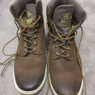 Timberland men's faded look boots