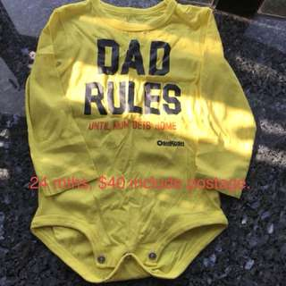 Oshkosh Toddler Onesies
