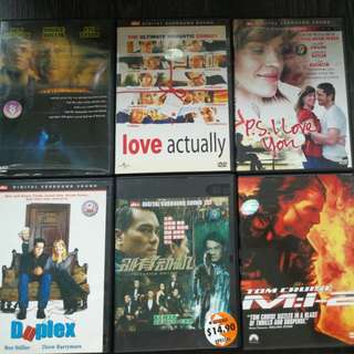 Various DVD for sale