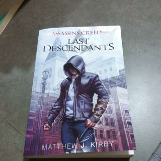 Matthew j . Kirby - an assassin's creed series- last decendants