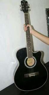 Acoustic Guitar & Digital Electronic Keyboard