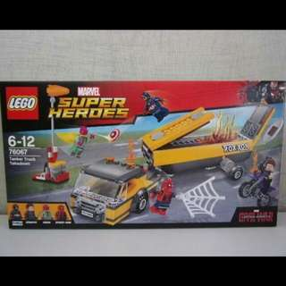全新 Lego 76067 Marvel Super Heroes系列 Tanker Truck Takedown