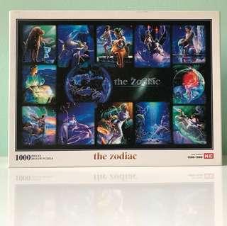 The zodiac jigsaw puzzle (1000 pieces)