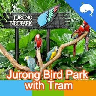 Jurong Bird Park with Tram E-Ticket