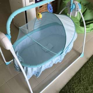 Electronic Cute Baby cradle