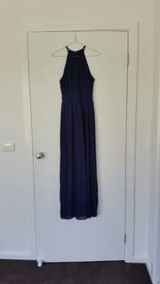 TFNC navy bridesmaid dress