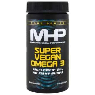 Maximum Human Performance, LLC, Core Series, Super Vegan Omega 3, 90 Veggie Softgels