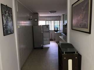 3 room HDB  rental above shop house