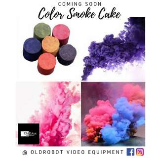 Color Smoke Cake for Photography & Videography