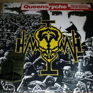 Vinyl Record LP: Queensrÿche ‎– Operation: Mindcrime
