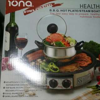 Bbq Hot Plate/ Steam Boat Iona
