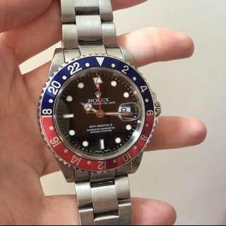 Rolex 16710  百事  2手 香港行貨  P頭(2000-2002)  無盒 可上行交收 $68000