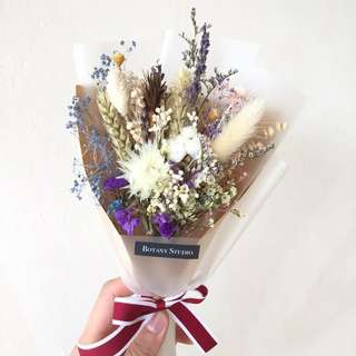 Dried flower small bouquet