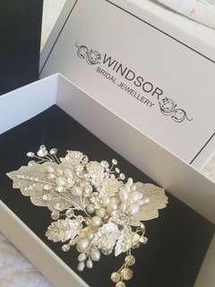 Windsor bridal jewellery - headpiece