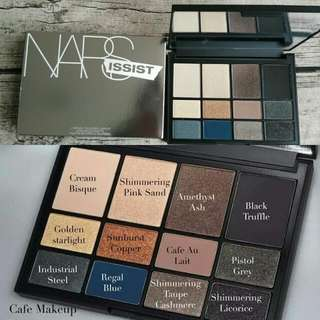 全新  NARS Loaded Eyeshadow Palette 12色眼影盤