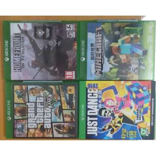 🚚 XBOX ONE  just dance 2016 gta5 創世神 home fornt