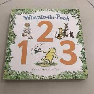 Winnie the pooh board book 123