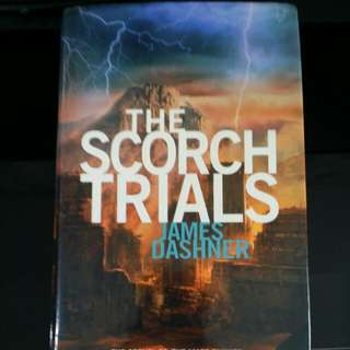 The Scorch Trials Hardcover book