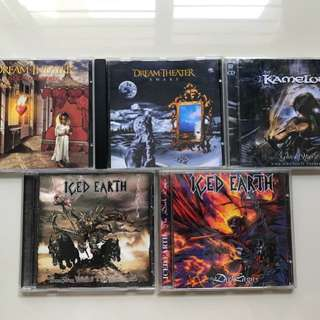 Various Metal CDs for Sale