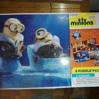 Minions 8 Puzzle Pack