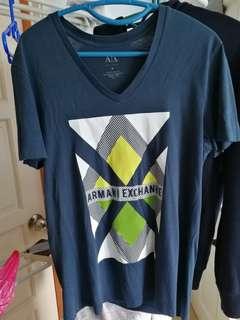 Armani exchange tee