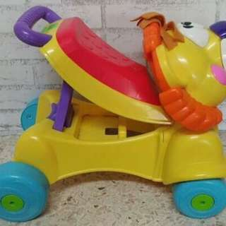 Preluv push n ride fisher price