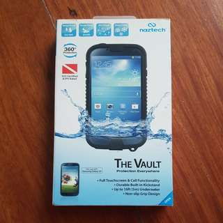Nazt3ch The Vault Samsung Galaxy S4 Waterproof Case