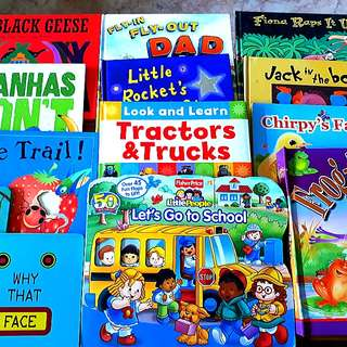 Any 3 for $10: Hardcover Storybooks for Children