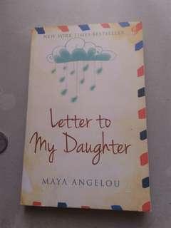 Novel the letter for my daughter