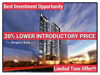 Shaw Blvd. 20% Lower Price Condominium