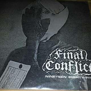 Vinyl Record LP: Final Conflict –Nineteen Eighty-Five Demo