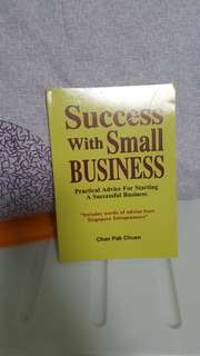 Success with small business  $8 each