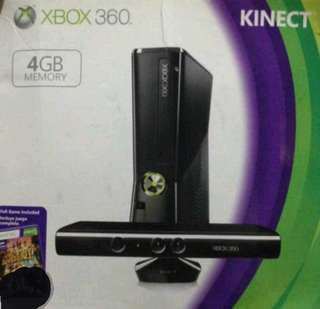 Xbox 360 Kinect (RUSH-with games)