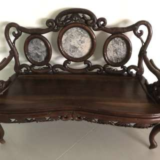 Rosewood Furniture (Bench, Stool, Chairs, Tables)
