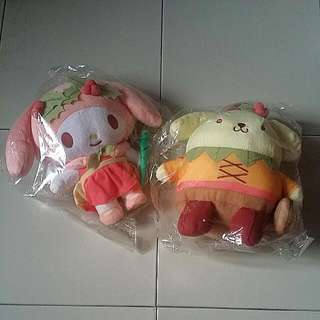 Changi Plushie Collection My Melody & Pompompurin