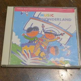 CD, Yamaha music course, Music Wonderland