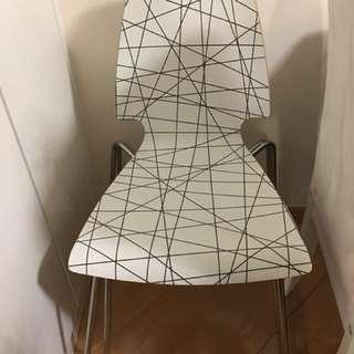 日系餐椅 2張 (9成半新)