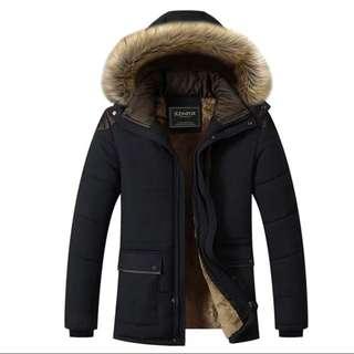 Brand New Black Men's Winter Jacket