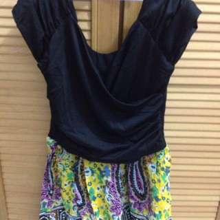 Minidress batik