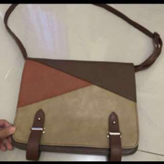 Clutch and sling bag