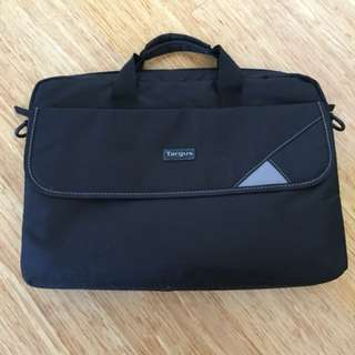 Targus Laptop Bag with strap and compartments
