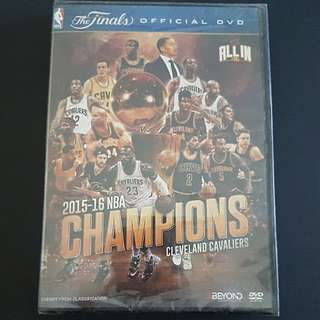 2015/16 NBA CHAMPIONS CLEVELAND CAVALIERS