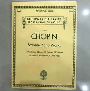 Chopin Favourite Piano Works