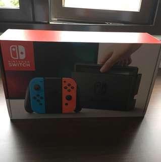 BNIB Nintendo Switch (fast sell)