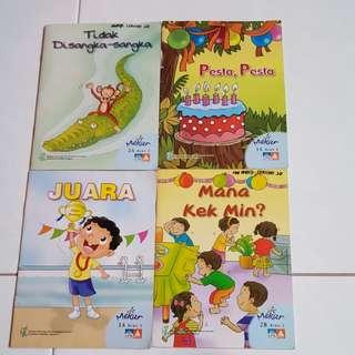 P1 P2 children malay book