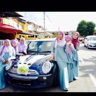 Mini Cooper S Wedding Event