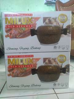 MILUX Gold Steamer Ceramic Serbaguna